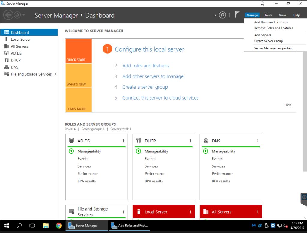 Deploying Remote Desktop Services on Server 2016 DC